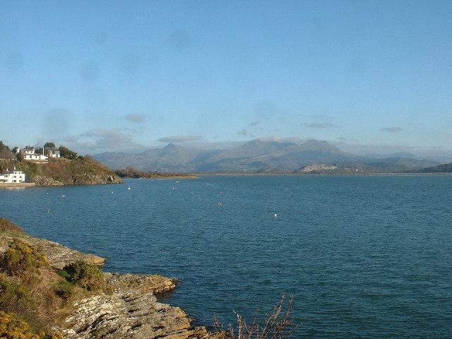 Glaslyn Estuary at Borth-y-Gest