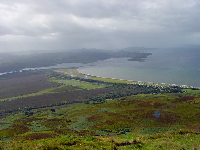 View from Beinn Lora looking South West
