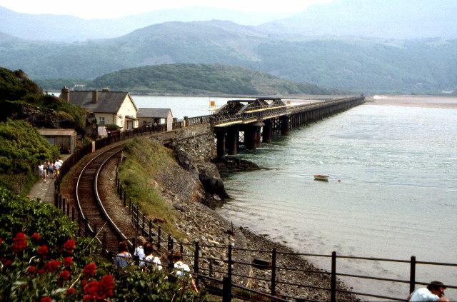 Railway at Barmouth