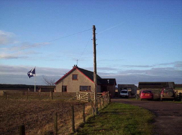 Esk Dale Cottage. Proudly Flying the Scottish Flag