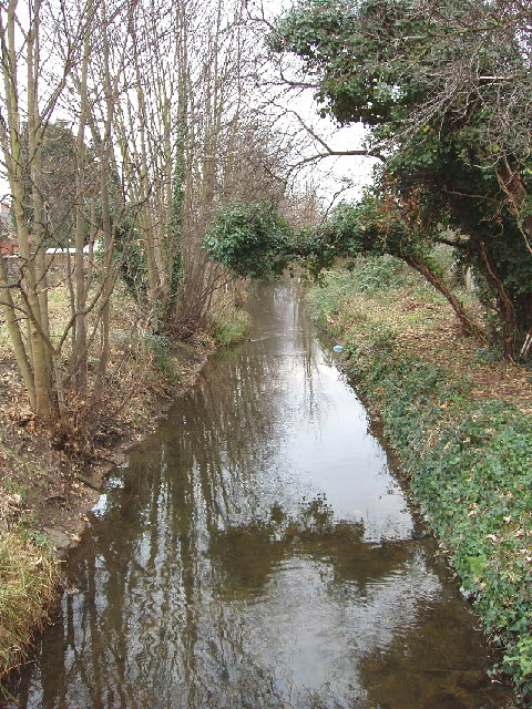 Longford River at Bedfont - water for Hampton Court