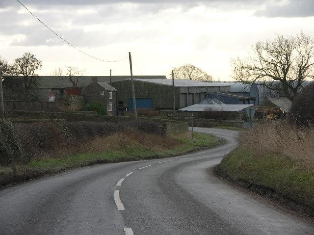 Nether Handley in NE Derbyshire