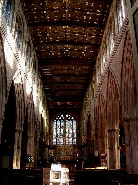 St. Editha's Church, Tamworth : The interior