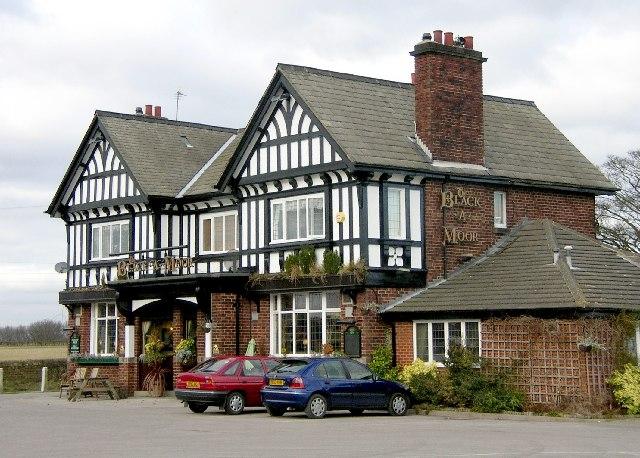 Black A'Moor Inn near Troway in NE Derbyshire