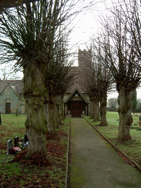 Baxterley Church - View from the lych-gate