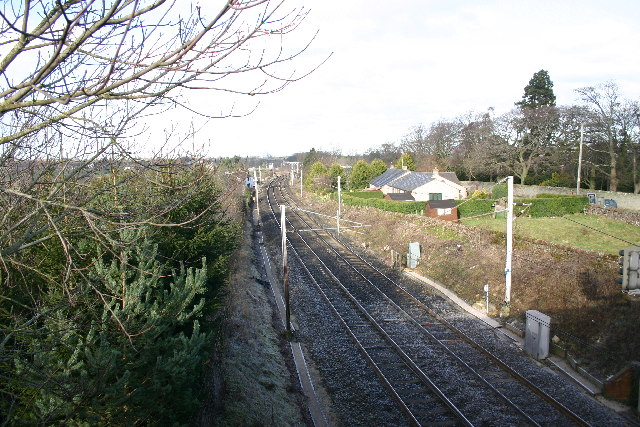 Train Line Yanwath