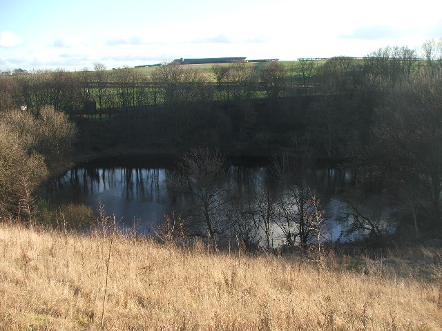 Reservoir at New Farnley.