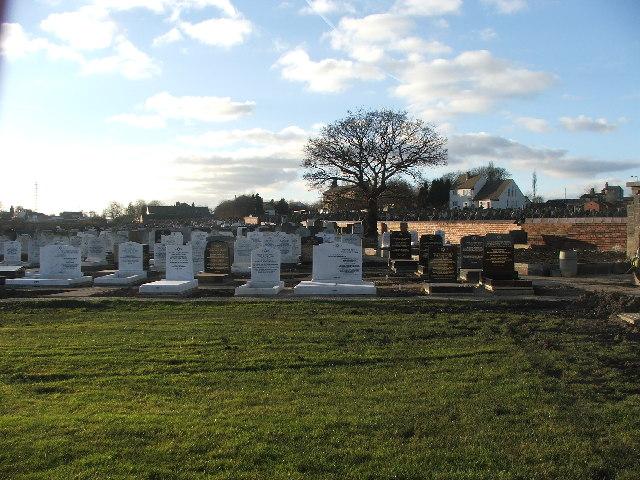 Cemetery on Whitehall Road.