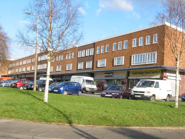 Countisbury Avenue shops, Llanrumney