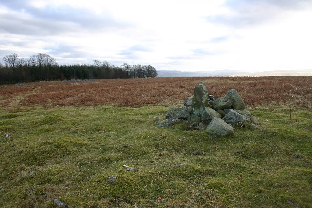 Boundary Stone on Heughscar Hill