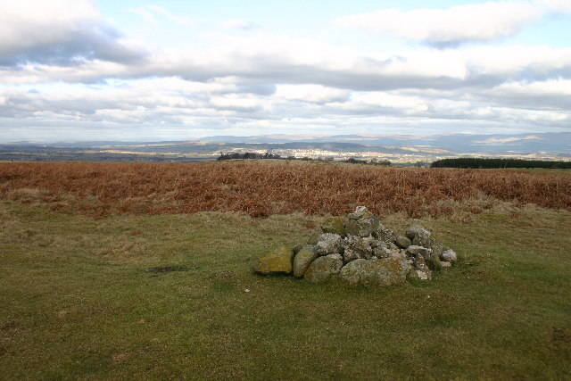Cairn on Heughscar Hill
