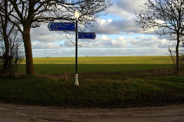 Burnham Crossroads - NLC Signpost