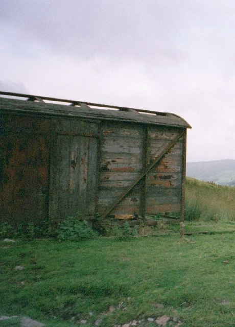 Old Railway Carriage Fleensop Moor