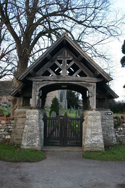 Inscribed Lych Gate