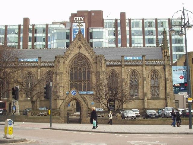 Mill Hill Unitarian Chapel, City Square, Leeds