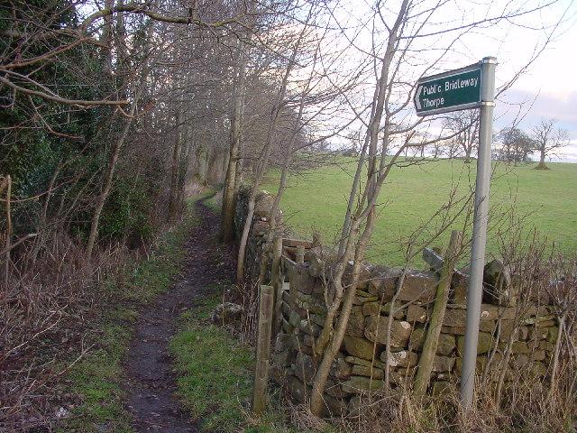 Bridleway to Thorpe