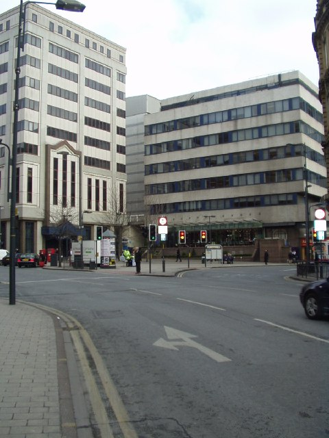Corner of East Parade & Infirmary St, Leeds