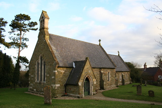 St.Andrew's church, Fulletby, Lincs.