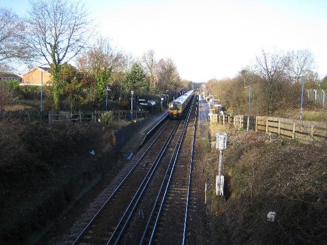 Winnersh railway station