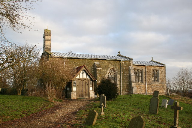 All Saints' church, Greetham, Lincs.