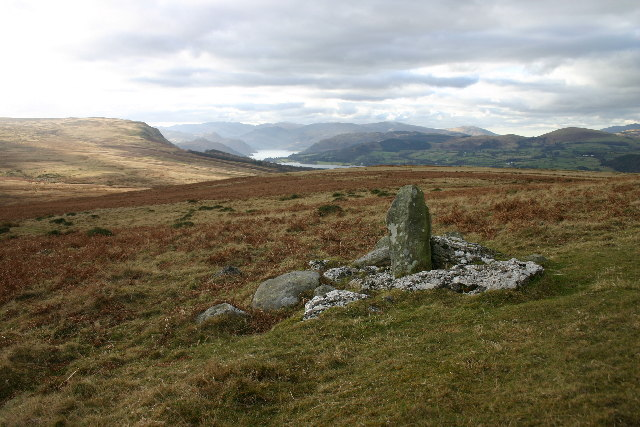Boundary Stone, Heughscar Hill