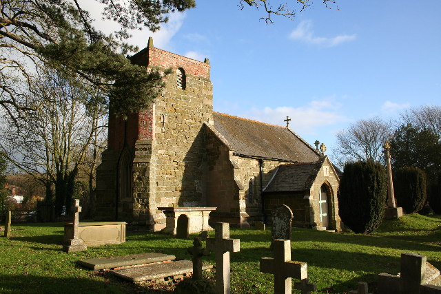 St.Margaret's church, Somersby, Lincs.
