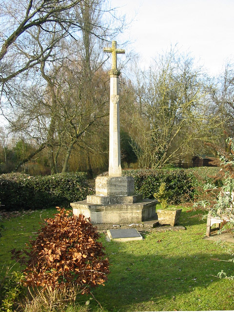 War memorial Damerham Hampshire
