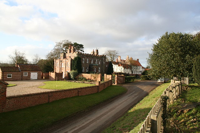Manor Farm and Somersby House
