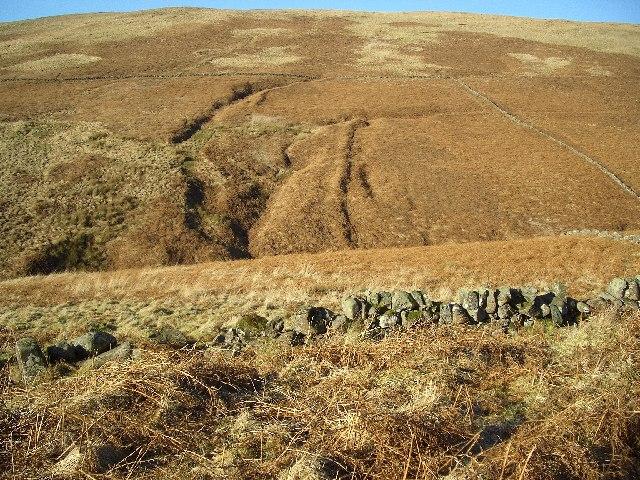 Strange Earthworks at Long Craig