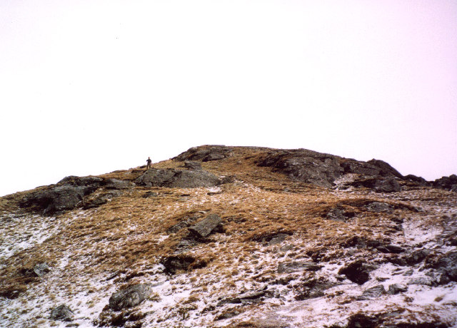 On the north ridge of Ben Donich