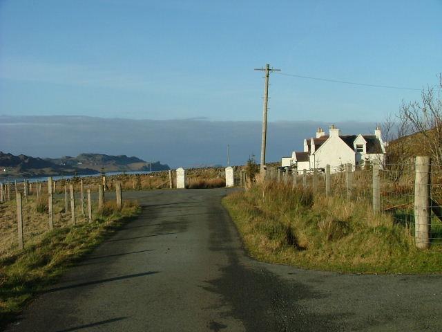 Garafad road end