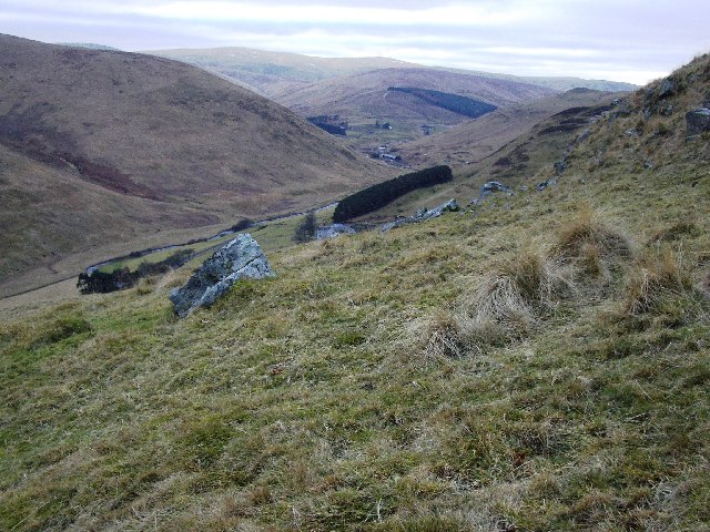Glen Devon Hillside