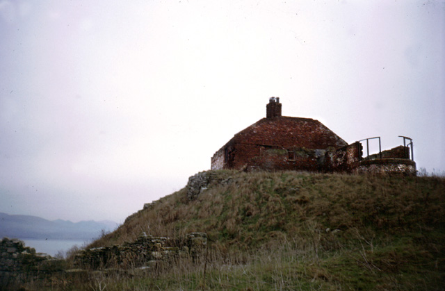 Old telegraph station on Puffin Island