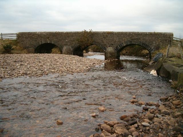 Three-arched bridge
