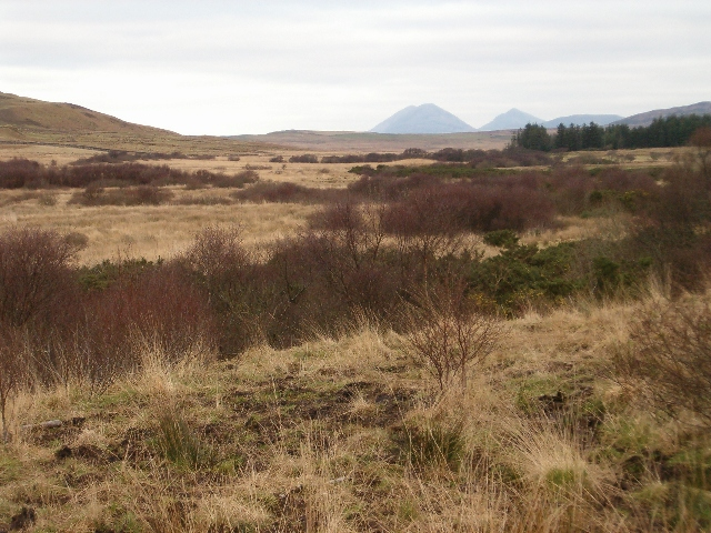 Unimproved land with a view to the Paps of Jura