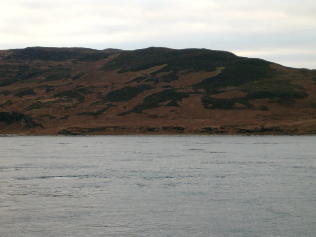 The shore of the Sound of Islay