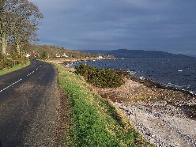 Bute, Shoreline