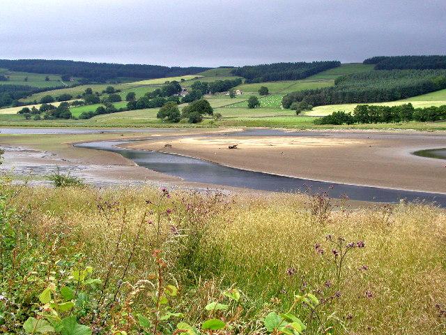 The head of Gouthwaite Reservoir