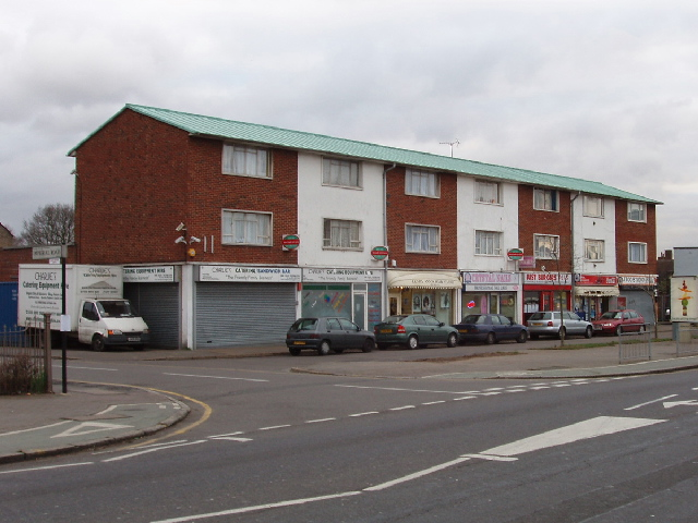 Shops in Staines Road, East Bedfont