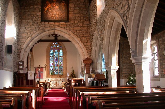 St Katherine's Church, Loversall. view of Altar.