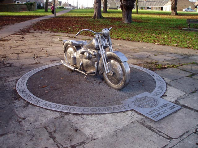 Harley-Davidson monument, Littleport