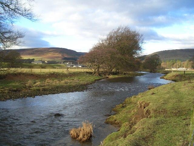 River Hodder just South of Dunsop Bridge