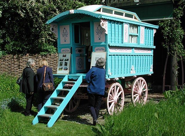 Roald Dahl's gipsy caravan