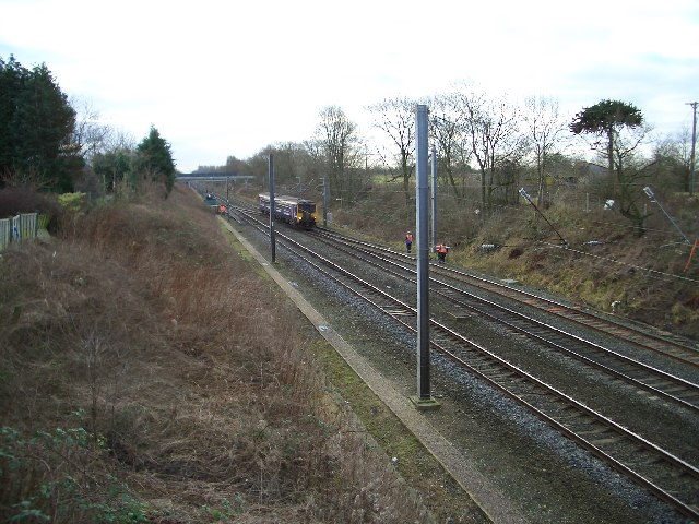 Main West Coast Line at Broughton