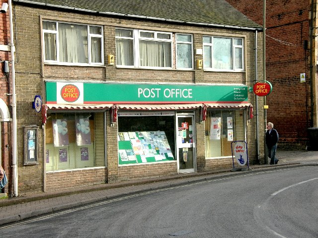 Eckington Post Office.