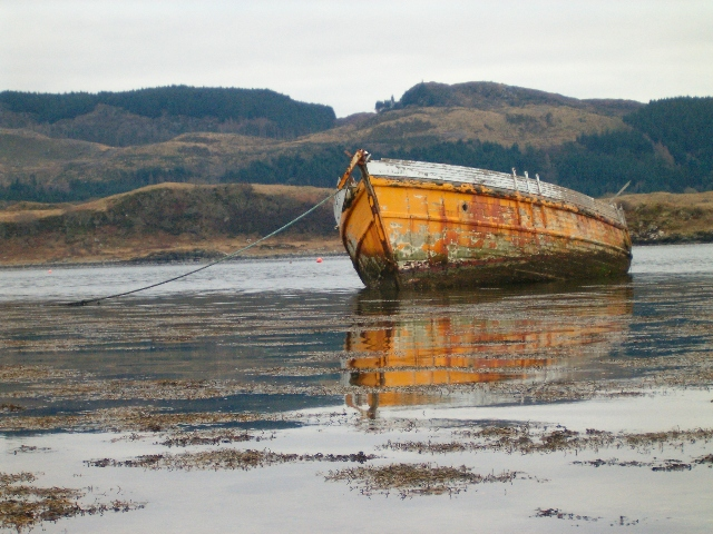 Hulk in Loch Craignish