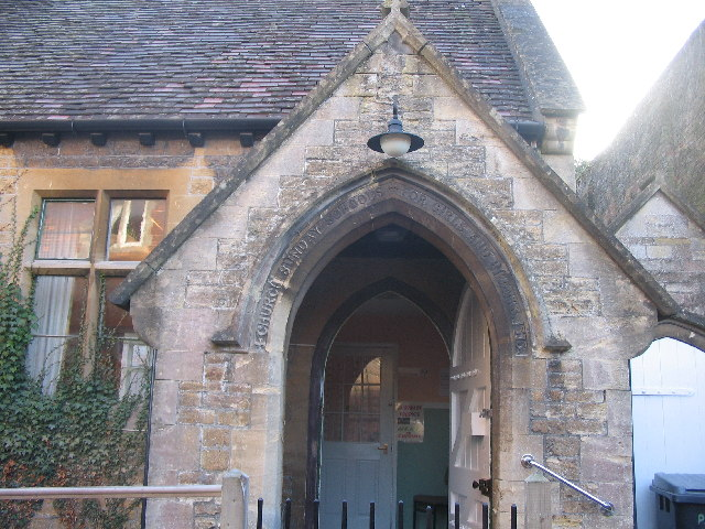 Entrance to the Church Hall