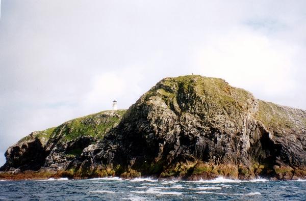 Northern tip of Eilean Mor (Flannan Isles)