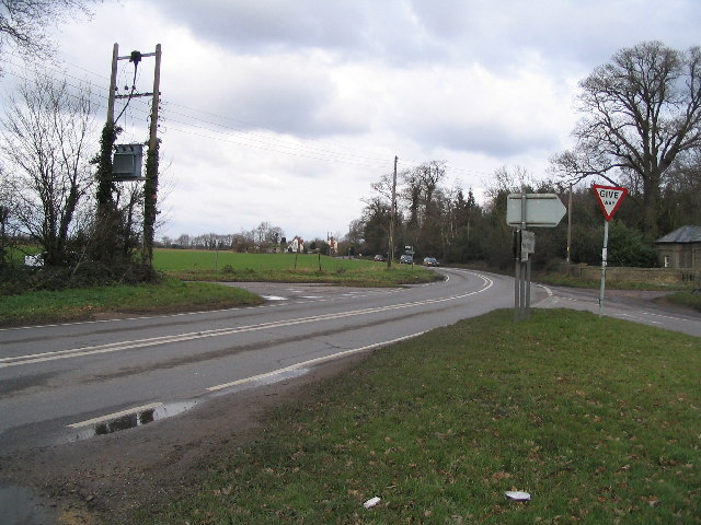 Road Junction on B1022