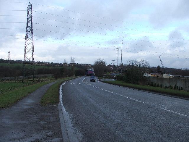 Thorpe Lane, middleton.